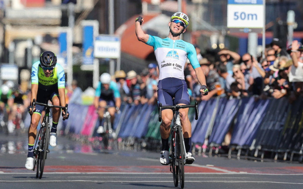 Cameron Scott wins the National Criterium Title