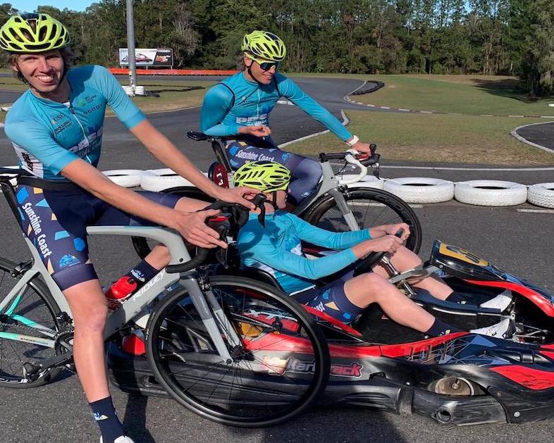 Pro Racing Sunshine Coast Riders at the Big Kart Track