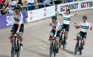 Pro Racing Sunshine Coast Riders Win World Track Championships